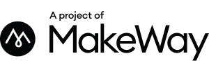MakeWay project logo black